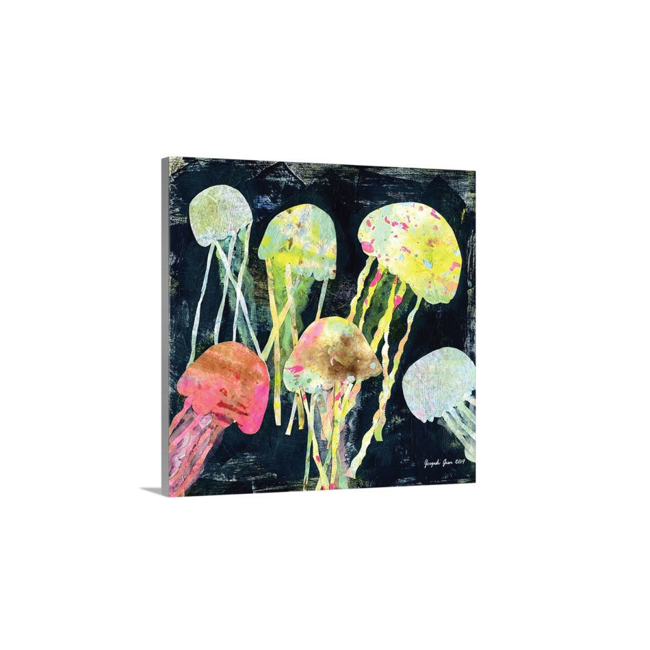 Jellyfish Canvas Reproduction (16 x 16) 00021