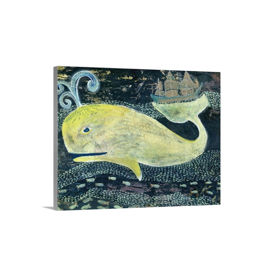 Jonah the Whale Canvas Reproduction (16 x 20) 00027
