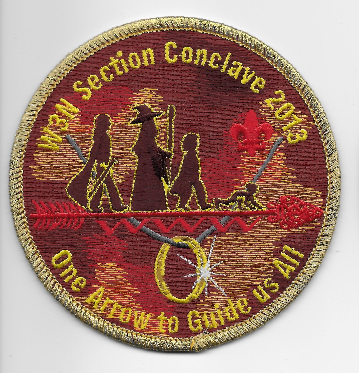 Conclave 2013- Gold Border