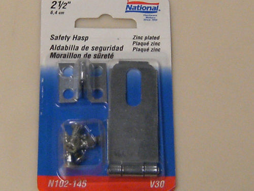 """National Safety Hasp 2-1/2"""""""