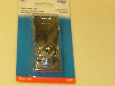 National Key Hasp Lock 4-1/2