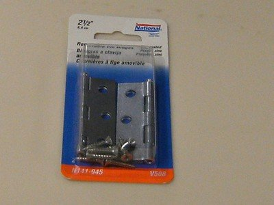 National Removable Pin Hinges 2-1/2