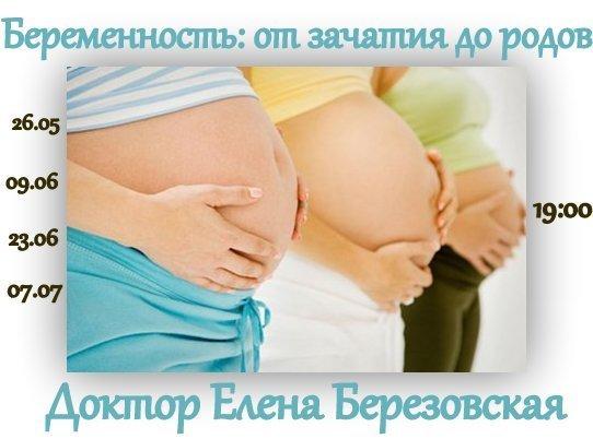 """Запись цикла вебинаров """"Беременность: от зачатия до родов"""""""