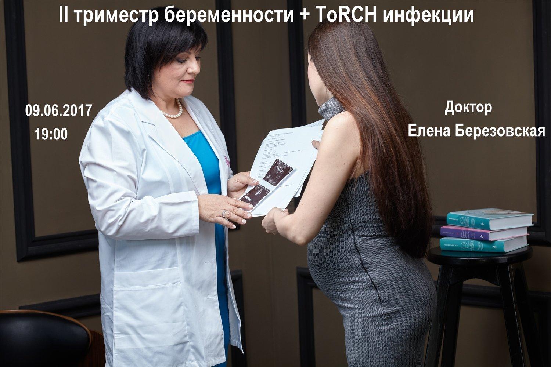 """Запись вебинара """"II триместр беременности + ToRCH инфекции"""" (300 грн, 750 руб)"""