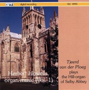 Herbert Howells organ music (Vol. 1)  [VLC 0992]