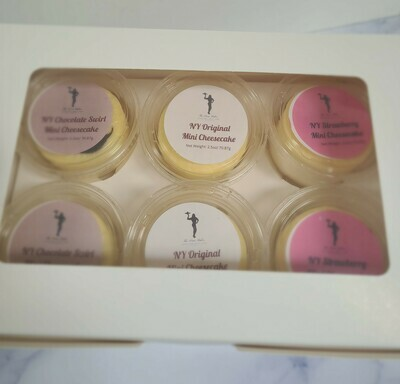 Protein Sugar Free NY Style Mini Cheesecake Sample Box
