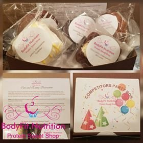 Competitors Party Box 5pc or 12pc Box