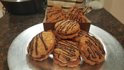 Peanut Butter Sandwich Kookie (GF)