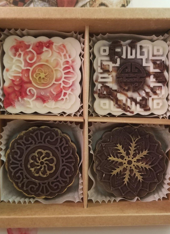 Christmas Chocolate Truffle Box