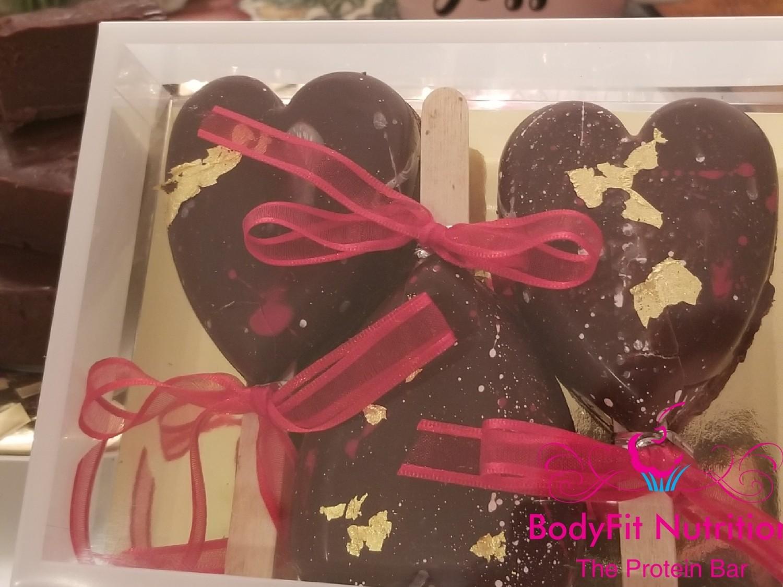 Chocolate Covered Fudge Bar