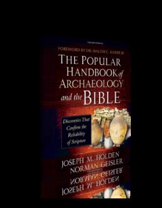 The Popular Handbook of Archaeology and the Bible – Hardback