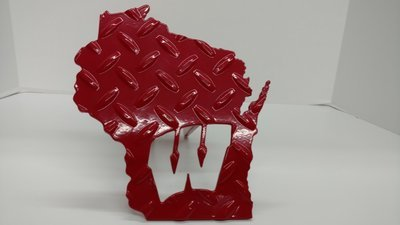 Wisconsin Hitch Cover