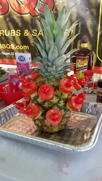 """Rub me Sweet"" - Aloha Pineapple Appetizer"