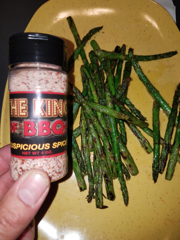 """""""Suspicious Spice"""" - Asparagus"""