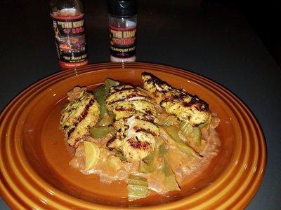 Mediterranean Grilled Chicken Tenders,.... Tender Lickin' good!!