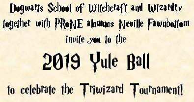 2019 Yule Ball