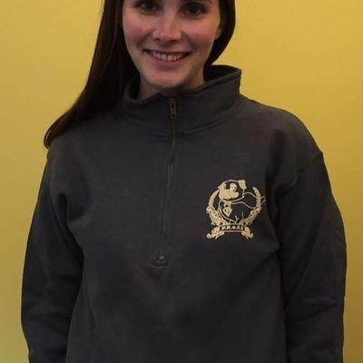PRONE Super Pug Rescue 1/4 Zip sweatshirt