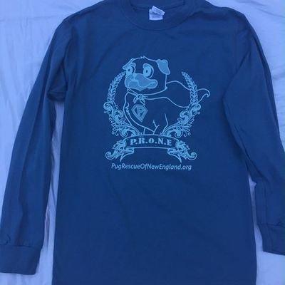 PRONE Super Pug T-Shirt, long sleeved