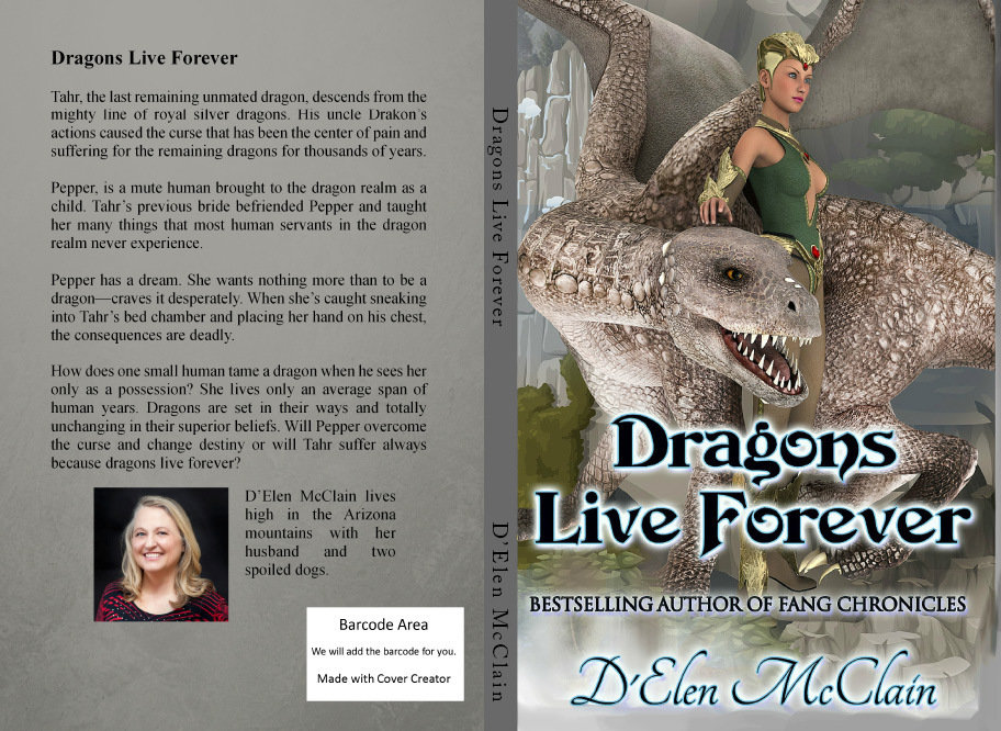 Autographed Dragon Book (price Includes shipping)
