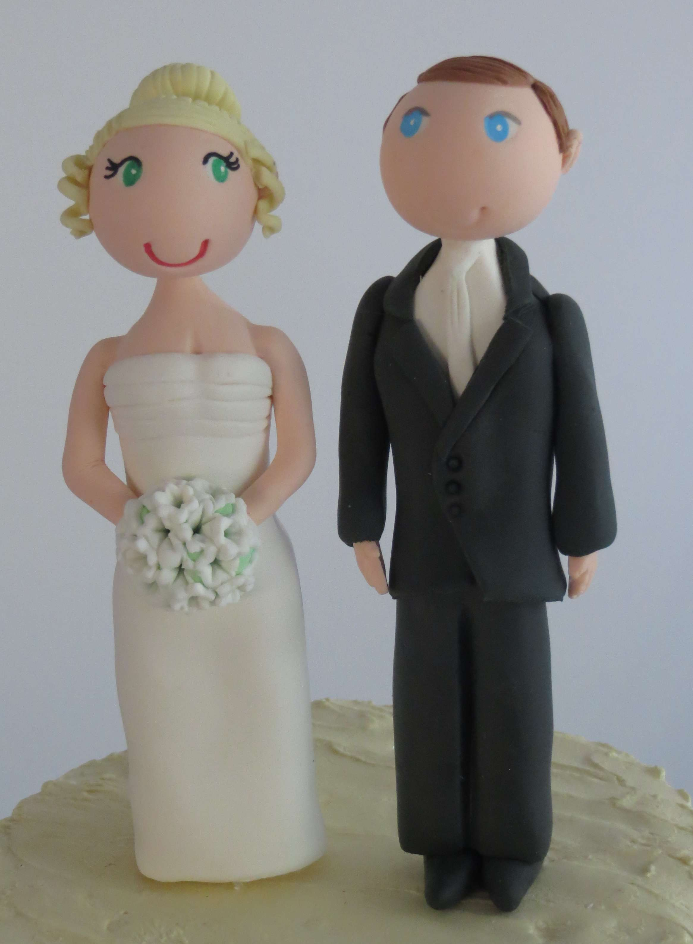 Standard Wedding Cake Toppers (Minimal Customisation )CLEARANCE SALE! A
