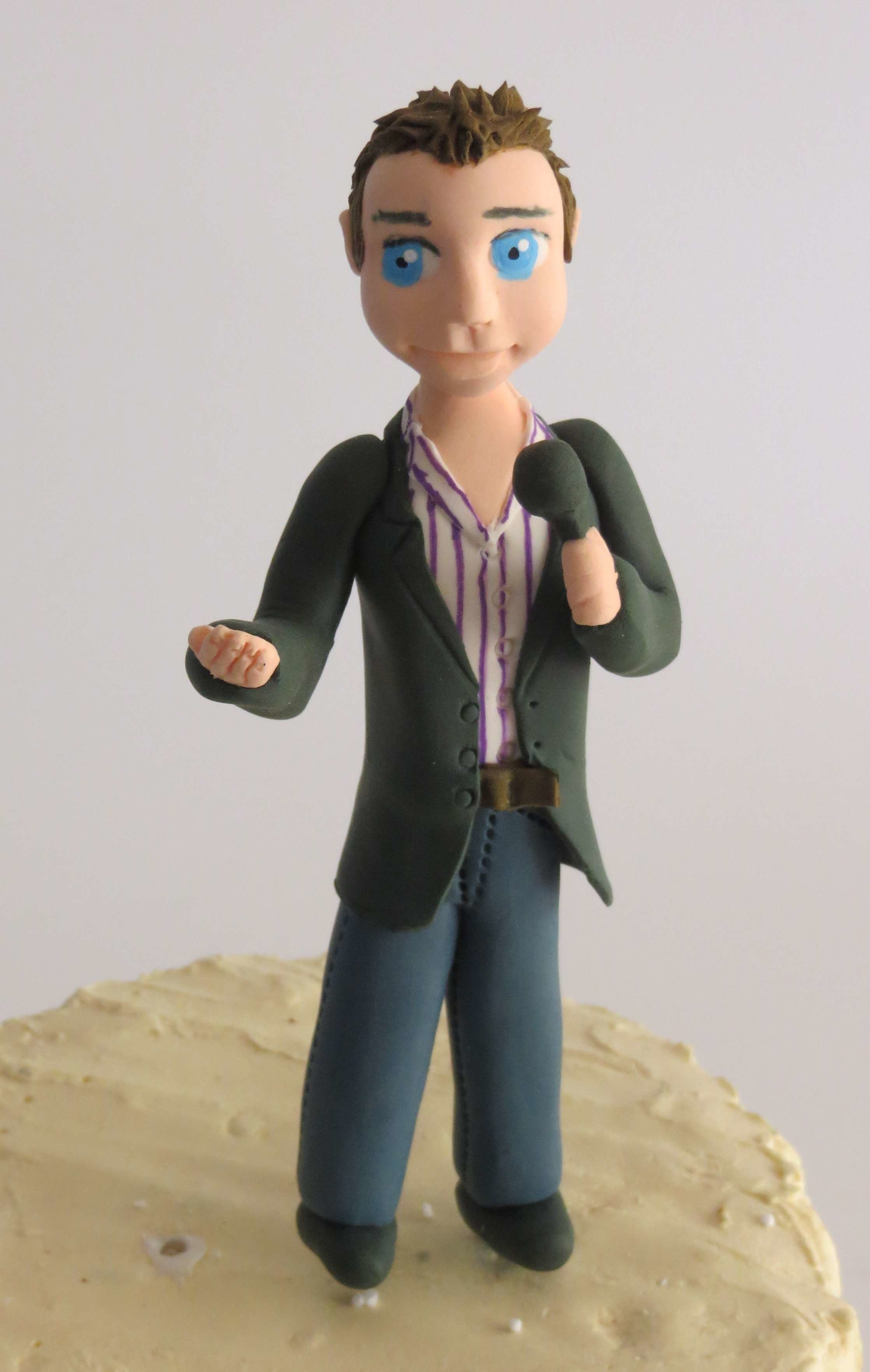 Special Occasion Toppers Single Male Figurine 00000