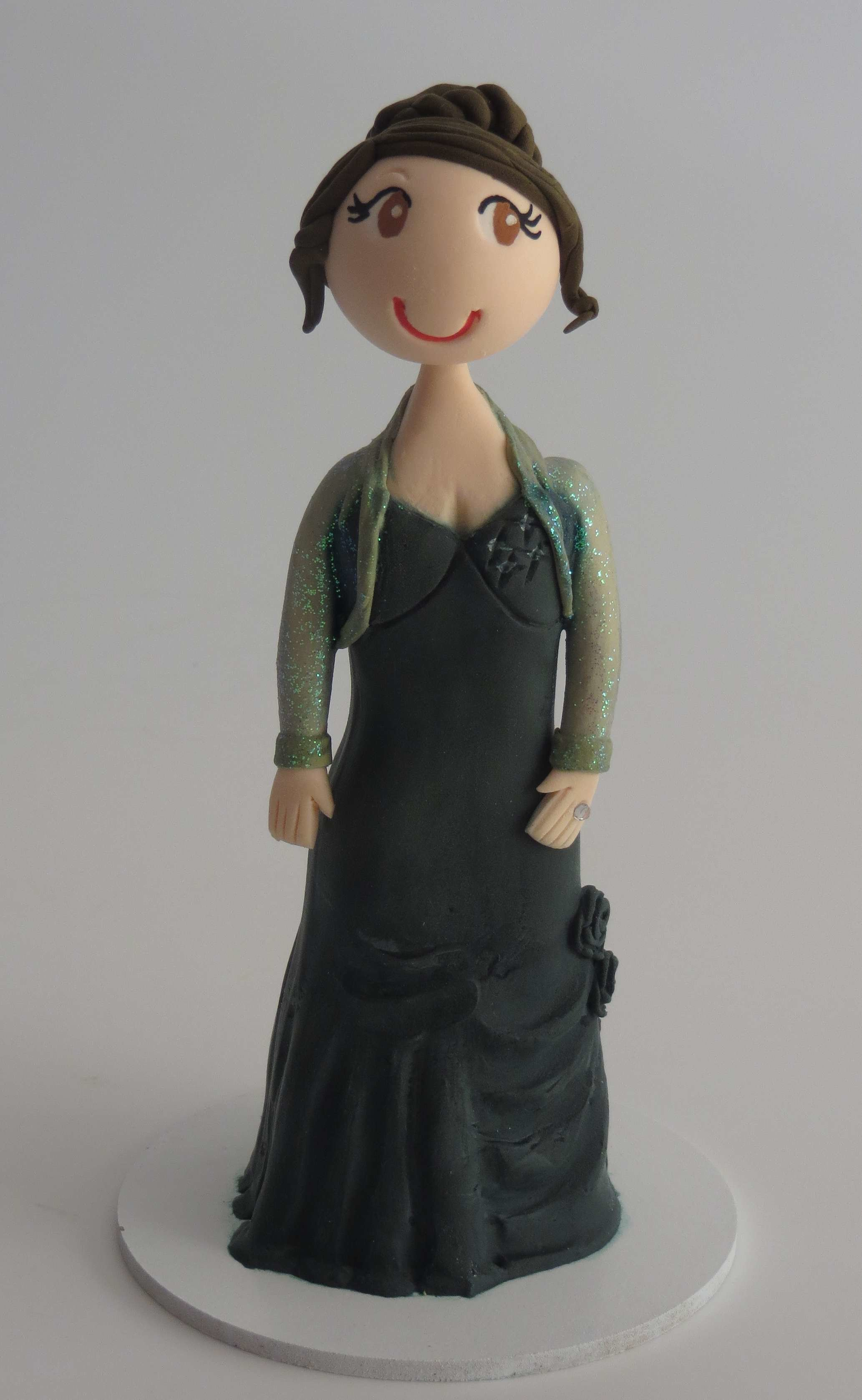 Special Occasion Toppers Single Female Figurine 95