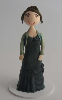 Special Occasion Toppers Single Female Figurine