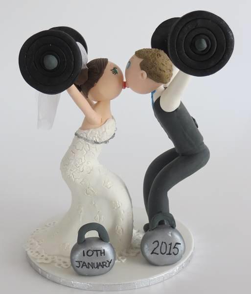 Crossfit Couple  on Base board