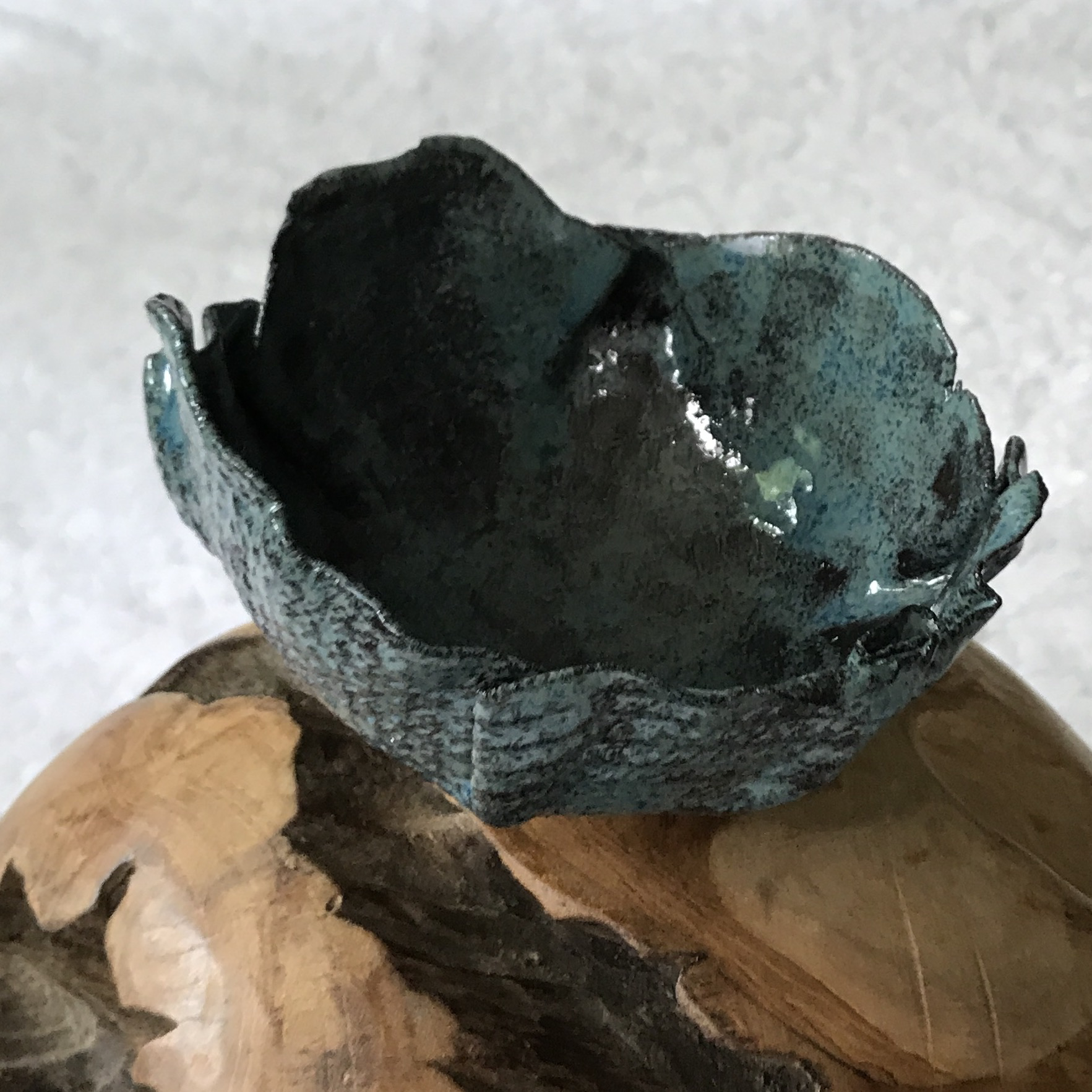 Keramikschale/Windlicht