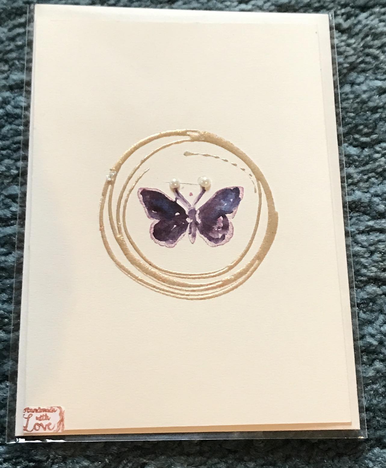 """Billet """"Schmetterling"""" 00079"""