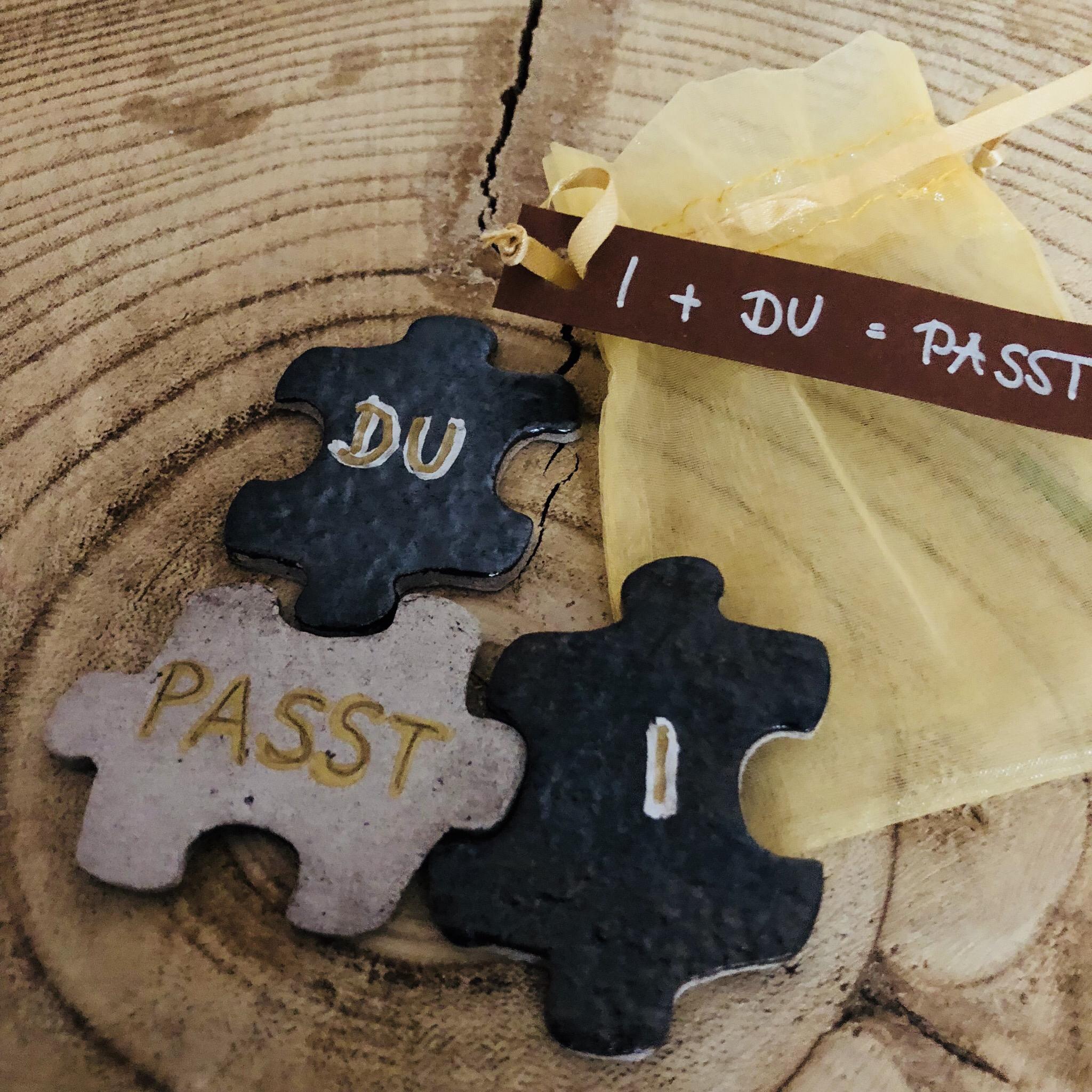 Ton Puzzle - DU + I = PASST 00322