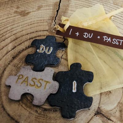 Ton Puzzle - DU + I = PASST