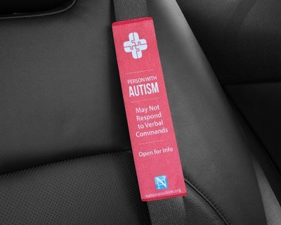 Help Belt - Safety Alert Seat Belt Cover