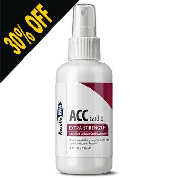 ACC CARDIO 4OZ SPRAY Extra Strength by Results RNA (30% OFF at checkout)