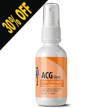 ACG GLUCO - 2OZ SPRAY by Results RNA (30% OFF at checkout)