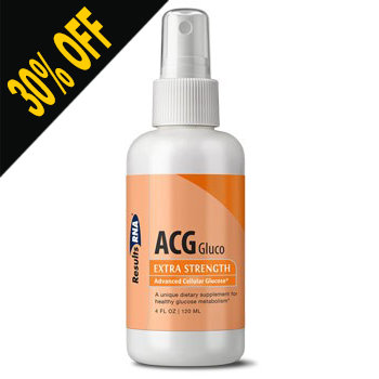 ACG GLUCO- 4OZ SPRAY by Results RNA (Discounted at Checkout)