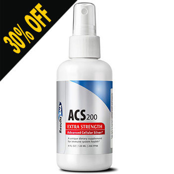 ACS 200 SILVER EXTRA STRENGTH 4OZ by Results RNA (Discount at Checkout)
