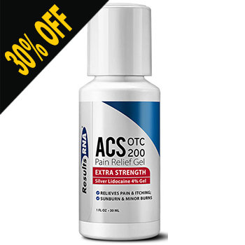 ACS OTC 200 Pain Relief Gel by Results RNA (Discount at Checkout)