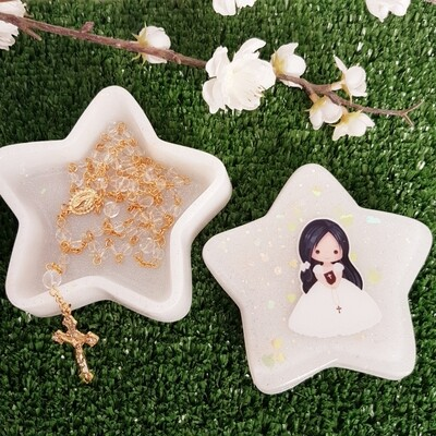 Star Christening Box