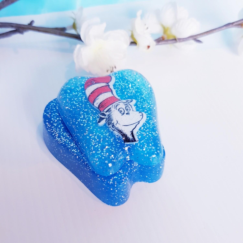 Tooth Fairy Box Cat Blue