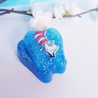 Tooth Fairy Box Cat Blue