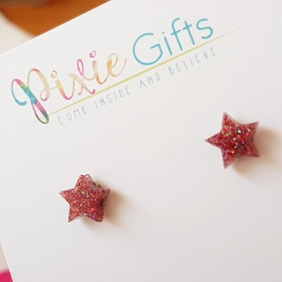 Red Star Studs
