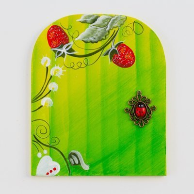 Strawberry Bloom Fairy Door