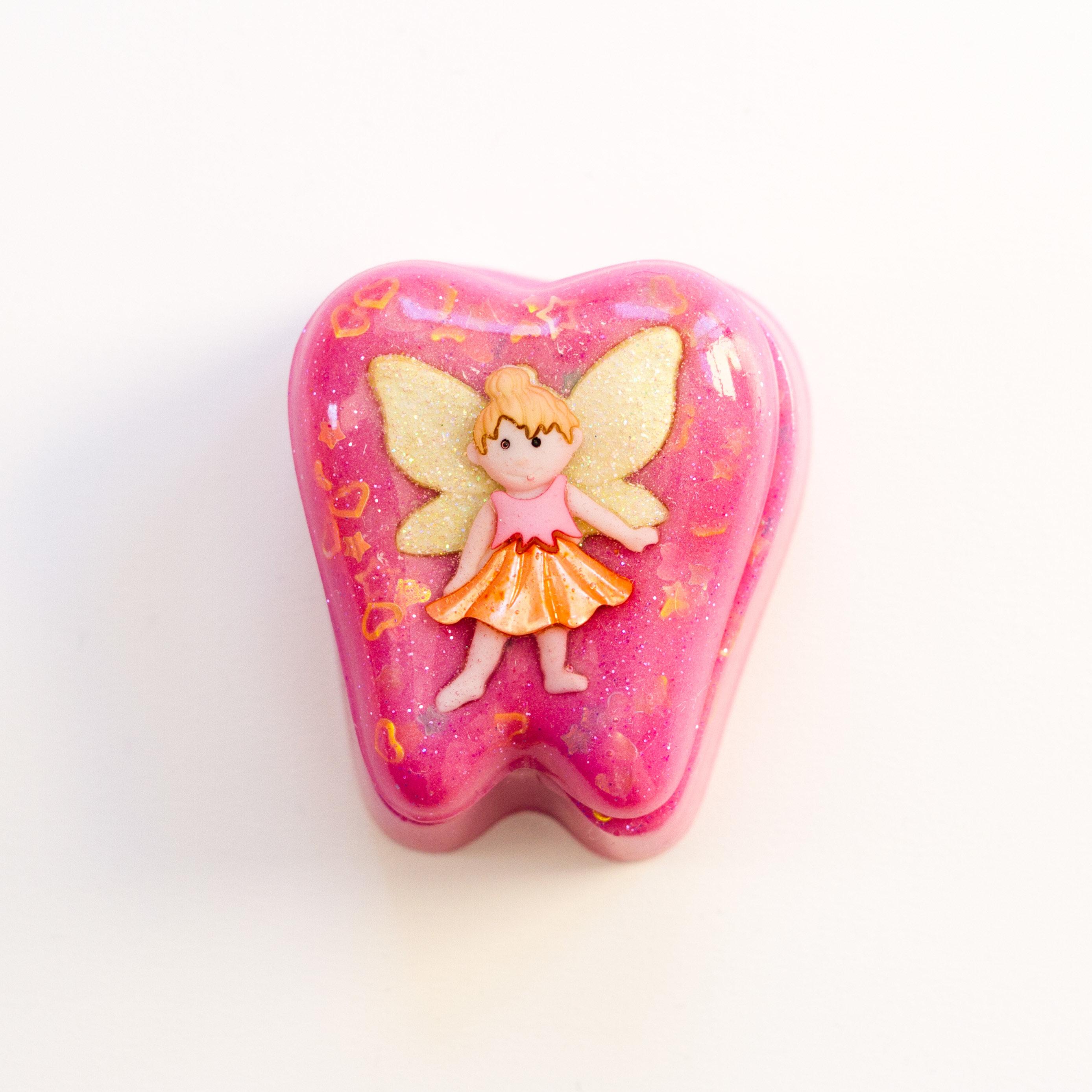 Tooth Fairy Box Girl  Pink Fairy 00080