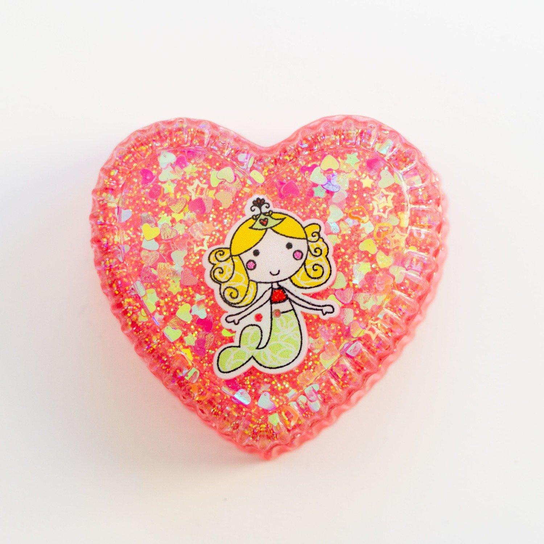 Kids Jewellery Box - Mermaid Pink