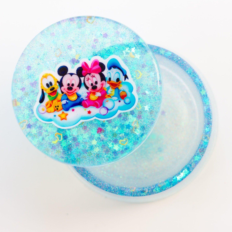 Jewellery Box Round- Disney Blue