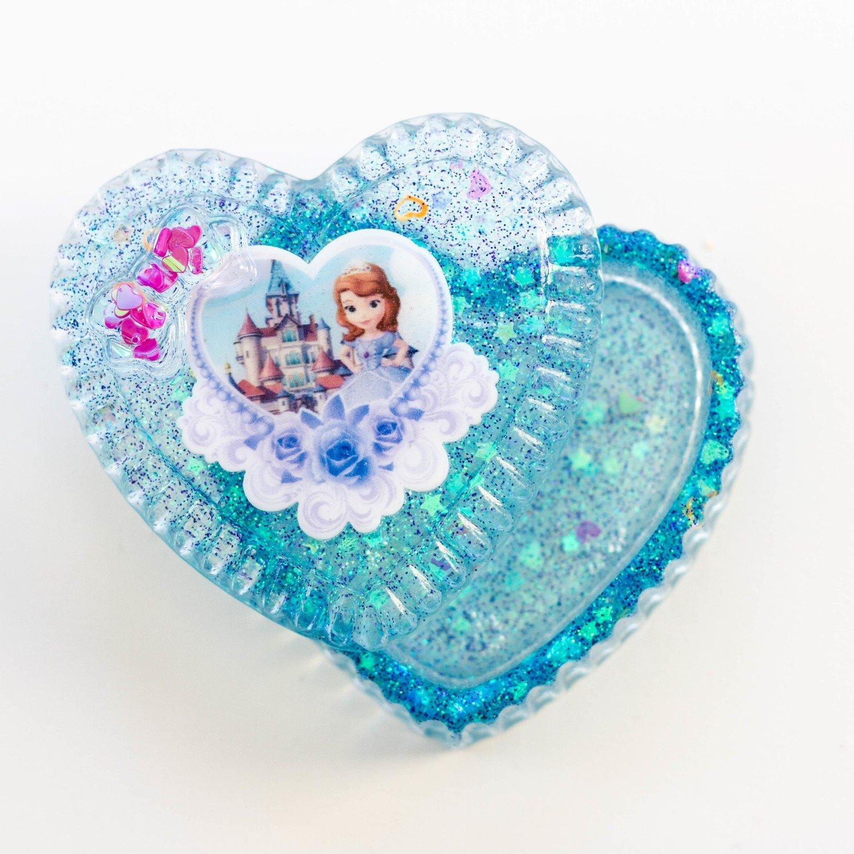 Jewellery Box Heart- Sophia the First
