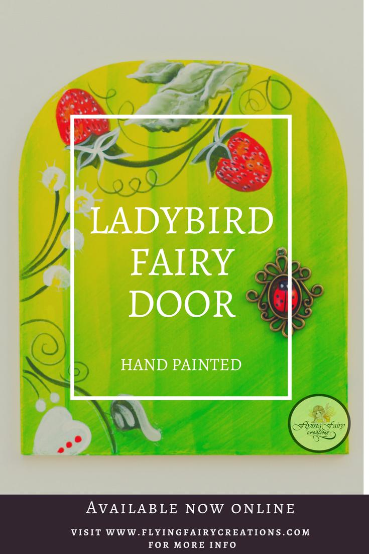 Strawberry Bloom Fairy Door