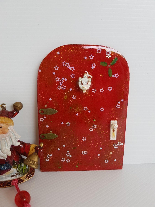 Christmas Fairy Door Holly