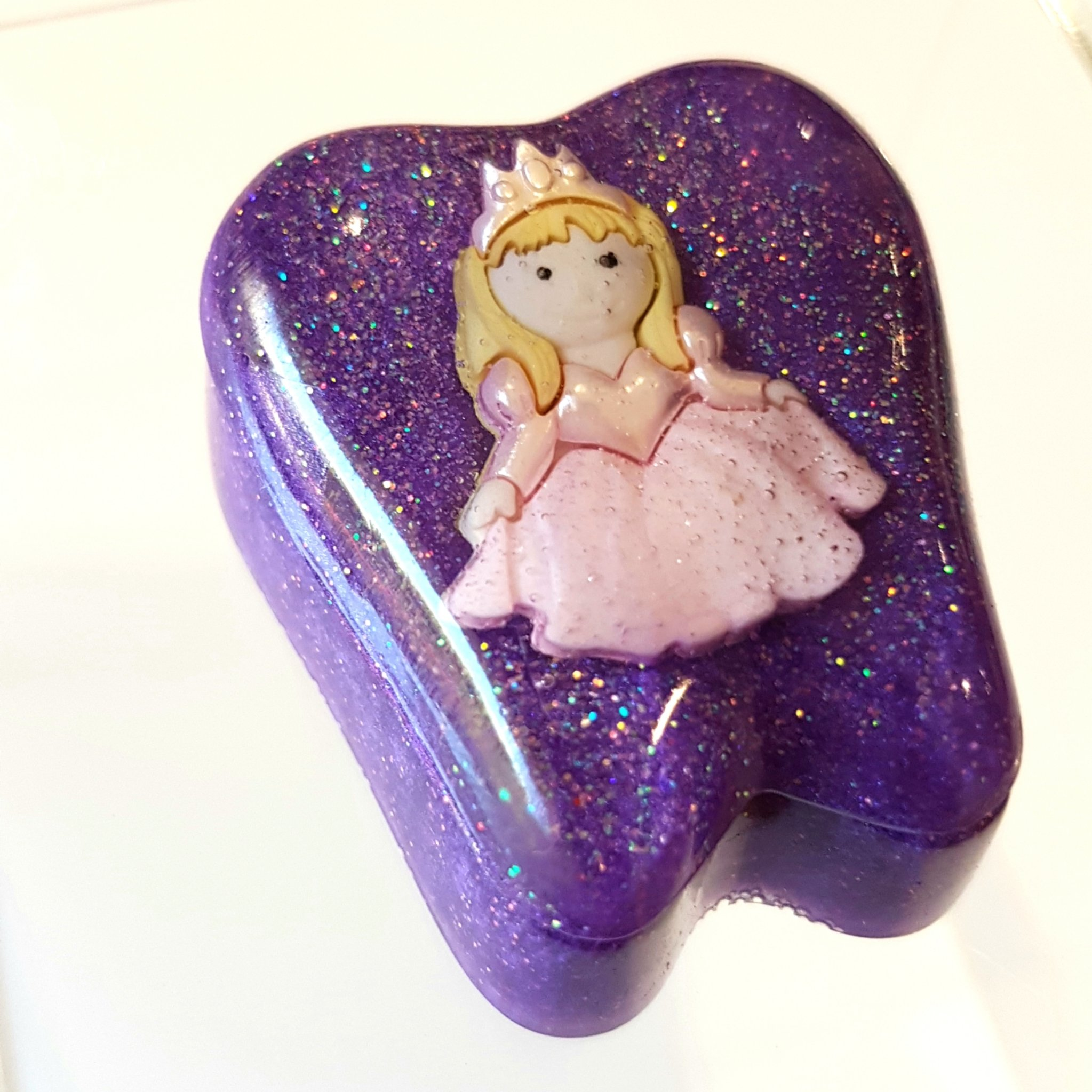 Handmade Resin Tooth Fairy Box by Flying Fairy Creations